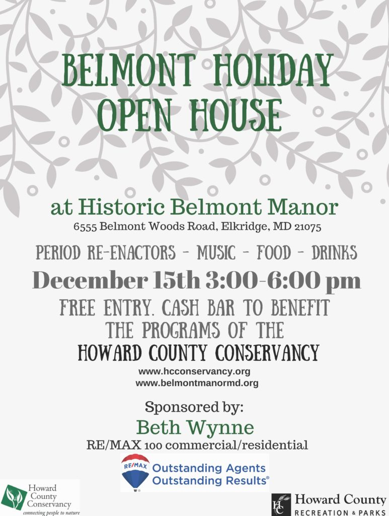 Natural Holiday Sale Howard County Conservancy